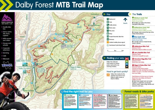 dalby-trail-map